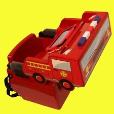 Imagination Booster Seat Kids Barbershop Salon Hair Dresser Chair w/Fireman Cape