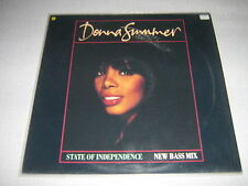 """DONNA SUMMER MAXI VINYL 12"""" GERMANY STATE OF INDEPENDAN"""