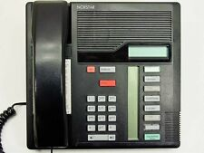 M7208 Nortel Norstar Meridian Phone Black  Refurbished with One Year Warranty