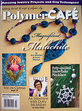 Polymer Cafe PolymerCAFE Clay Magazine - Feb 2011 New