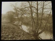 Glass Magic Lantern Slide ON THE AVON WARWICK C1900 ENGLAND