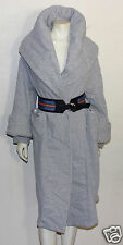 Norma Kamali vintage grey sweat shirt material sleeping bag style coat M   used