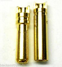 C0405 RC Connector 4mm 4.0mm Gold Plated Male and Female Bullet Banana x 1 Set
