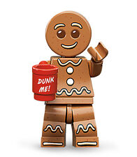 LEGO 71002 MINIFIGURES SERIES 11 GINGERBREAD MAN MINIFIG NEW SEALED GINGER BREAD