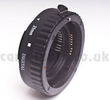 21mm fully AF Automatic Macro Extension Tube ring for CANON EOS EF EFS fit