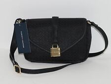New Tommy Hilfiger Crossbody Shoulder Bag Purse Black NWT