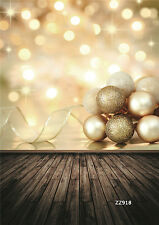 10X20FT Xmas Wood Vinyl photography photo prop Studio background backdrops ZZ918