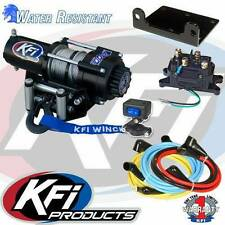 KFI 4500LBS Winch Kit & Winch Mount 2010-2015 Polaris 800 Ranger Full Size 6x6