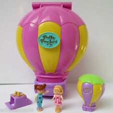Mini Polly Pocket Up Up and Away Happy Holidays 100% complete Ballon 1997