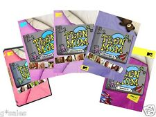 MTV Teen Mom 2 Season 1-5 Part 1 (1 2 3 4 & 5 Part One) ~ NEW 21-DISC DVD SET