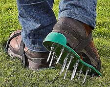 Cura PRATO IN ACCIAIO INOX Areator Scarpe Picchi di erba da giardino