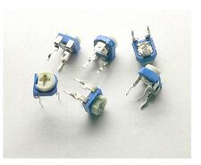 20pcs 2K 202 Blue White Resistance Adjustable Resistor