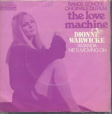 7inch DIONNE WARWICKE the love machine FRANCE EX +PS WOC