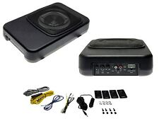 VEHICLE Active Subwoofer 20cm 8 Zoll Car HiFi Speaker 180W Bass Box Under-seat