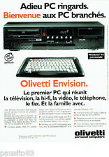 PUBLICITE ADVERTISING 026  1995   Olivetti Envision  pc  windows 95
