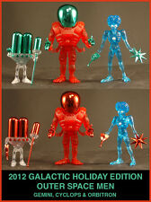 COLORFORMS OUTER SPACE MEN 2012 HOLIDAY CYCLOPS WITH RED ACC'S FACTORY BAG