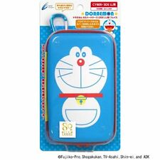 Nintendo 3DS LL XL Doraemon Hard Pouch Case