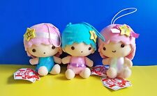 CHOOSE 1 BNWT Sanrio Eikoh 13cm Horoscope Little Twin Stars plush soft toy doll