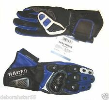 Ladies Motorcycle Motorbike Leather Gloves Racer Aero Power Size Small