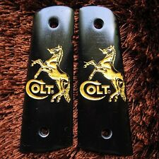 NEW RESIN GRIPS FOR COLT 1911 KIMBER CLONE TAURUS GOLD HORSE STYLE FULL SIZE
