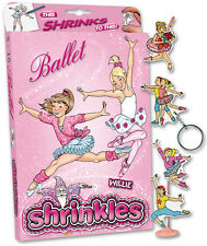 38 BALLET EMBELLISHMENTS SHRINKLES SHRINKIE SHRINK ART BUMPER BOX SET & PENCILS