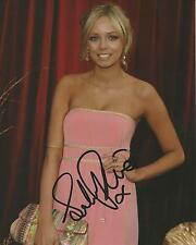 Sacha Parkinson (ex Coronation Street) Signed 10x8 Photo UACC Registered Dealer
