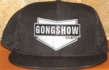 GONGSHOW HOCKEY BIG GAME SNAPBACK Mesh Ball Cap Trucker Hat Adjustable Black