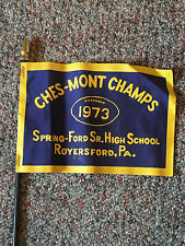 1973  CHES-MONT Champs Flag. Spring-Ford Sr. High School, Royersford, PA
