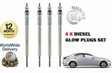 FOR LEXUS IS200D IS220D 2.2DT DIESEL  2005-  NEW 4 X DIESEL GLOW PLUG SET
