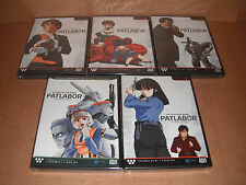 Patlabor  The Mobile Police -Complete TV Series & OVA DVD NEW