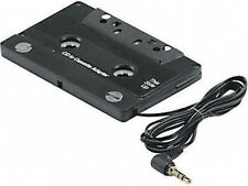 Car Cassette Tape Adapter 3.5 MM Fits iPhone Ipod MP3 AUX Black