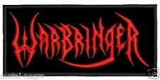 WARBRINGER EMBROIDERED PATCH THRASH SLAYER EXODUS HAVOK VIOLATOR Metal Negro