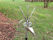 Golf Iron Poke Garden Poke, Recycled Garden Art Yard Stake