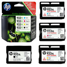 4 ORIGINAL HP 932XL 933XL MULTIPACK DRUCKER 6100 6600 6700 7110 7610 PATRONEN