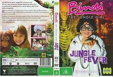 DVD * Bindi the Jungle Girl:Jungle Fever * 2007 Australian ABC Kids - 4 Episodes