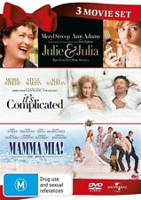Meryl Streep Collection - Julie & Julia / It's Complicated / Mamma Mia! (DVD,...
