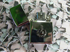 Army Military Regimental Lighter With Royal Marines On Front (dark) RM
