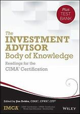 The Investment Advisor Body of Knowledge by IMCA Staff (2015, Hardcover / Onlin…