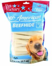 PET FACTORY 949045 Usa 5-Inch Chip Rolls Chews for Dogs, 22-Pack , New, Free Shi