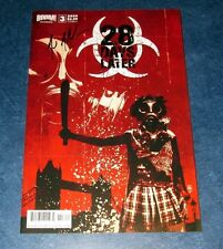 28 DAY LATER #2 A signed 1st print BOOM COMIC MICHAEL ALAN NELSON 2010 movie tie