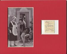 Fifi D'Orsay Going Hollywood Delinquent Daughters Signed Autograph Photo Display
