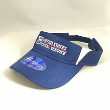 USPS Visor Performance Cap United States Postal Service Sports Velcro Back Hat