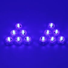 12PCS 1LED Submersible Tank Tea lights For Center Wedding Party Xmas+Mini Remote