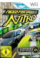 Nintendo Wii Need for Speed Nitro * Deutsch utilizada