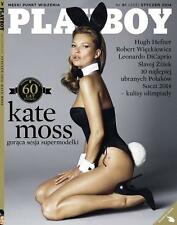 Playboy No 1/2014 front Kate Moss + Wall Calendar Marilyn Monroe (front)