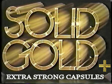 SOLID GOLD+ - Male Enhancement Capsules x 2 MAX STRENGTH Boost *UK SUPPLIER*