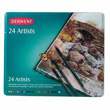 Derwent Artists 24 Piece Colour Pencil Set Drawing Sketching