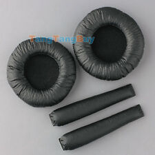 Replacement Ear Pads w/Headband Cushions for Sennheiser PX100 PX200 Headphones