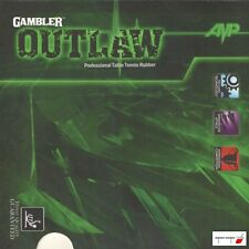 Gambler Rubber Outlaw 2.15mm Table Tennis