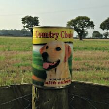 48 x 400g Tins Country Choice Complete Tinned Wet Dog Food - CHICKEN FLAVOUR